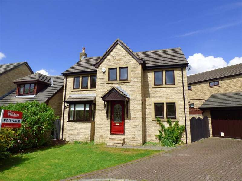 4 Bedrooms Detached House for sale in Kebble Court, Gomersal
