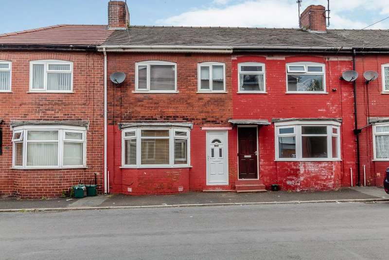 3 Bedrooms Terraced House for sale in Borough Road, Salford, Manchester M50 1DX