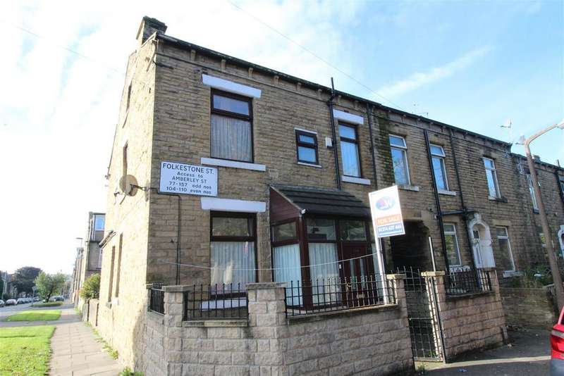 3 Bedrooms End Of Terrace House for sale in Folkestone Street, Bradford, BD3 8AT