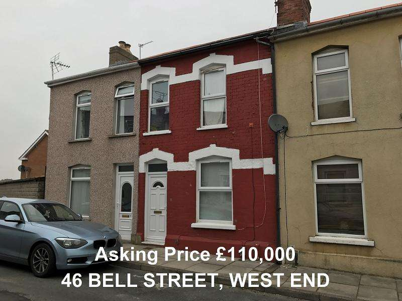 2 Bedrooms Terraced House for sale in Bell Street, Barry, The Vale Of Glamorgan. CF62 6JU