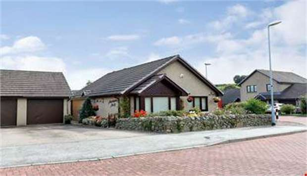 2 Bedrooms Detached Bungalow for sale in Wilson Place, Kemnay, Inverurie, Aberdeenshire