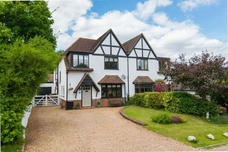 4 Bedrooms Semi Detached House for sale in Hill Rise, Chalfont St Peter, Gerrards Cross, Buckinghamshire