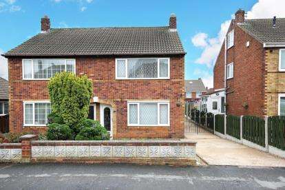 3 Bedrooms Semi Detached House for sale in Winchester Way, Scawsby, Doncaster