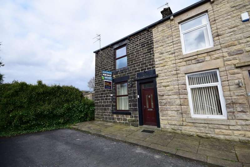 2 Bedrooms End Of Terrace House for sale in Victoria Street, Whitworth
