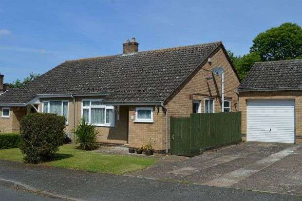 2 Bedrooms Semi Detached Bungalow for sale in Chesham Rise, Cherry Lodge, Northampton NN3 8PX