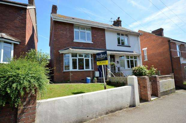3 Bedrooms Semi Detached House for sale in St. Johns Road, Exmouth, Devon