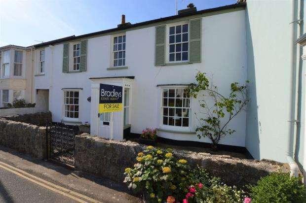 3 Bedrooms Terraced House for sale in The Green, Shaldon, Devon