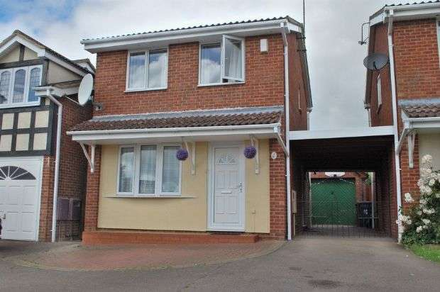 3 Bedrooms Detached House for sale in Stephen Bennett Close, Duston, Northampton NN5 6PH