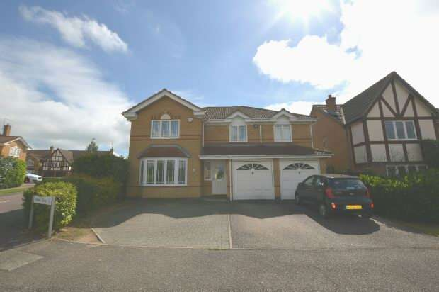 5 Bedrooms Detached House for sale in Aldwell Close, Wootton, Northampton