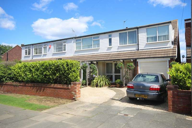 4 Bedrooms Semi Detached House for sale in Astley Drive, Brierdene, Whitley Bay, NE26