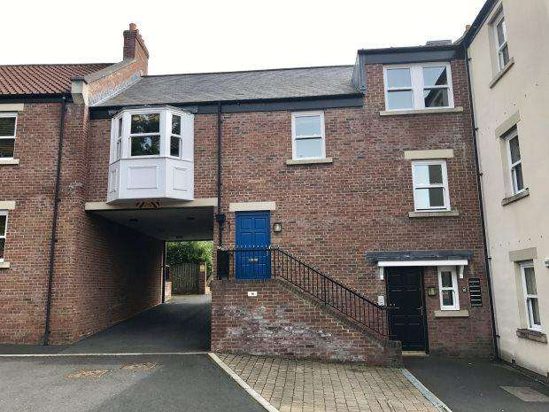 3 Bedrooms Flat for sale in THE SIDINGS, GILESGATE, DURHAM CITY