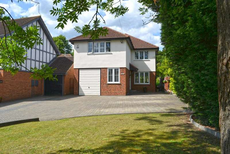 4 Bedrooms Detached House for sale in Middle Street, Nazeing EN9