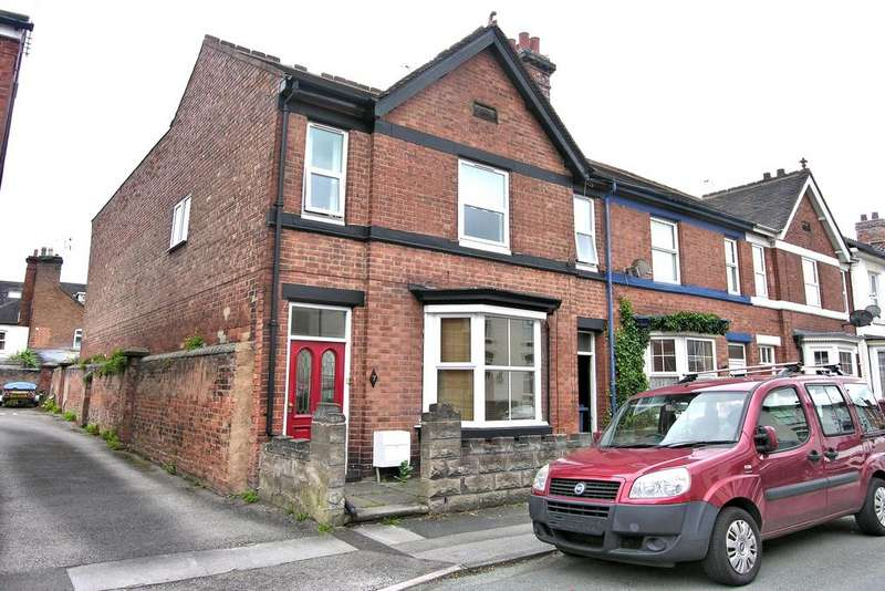 4 Bedrooms End Of Terrace House for sale in TALBOT ROAD, OFF WOLVERHAMPTON ROAD, STAFFORD ST17