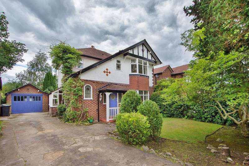 3 Bedrooms Detached House for sale in Highfield Crescent, Wilmslow