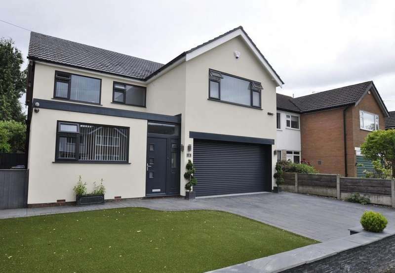 5 Bedrooms Detached House for sale in Hursthead Road, Cheadle Hulme,