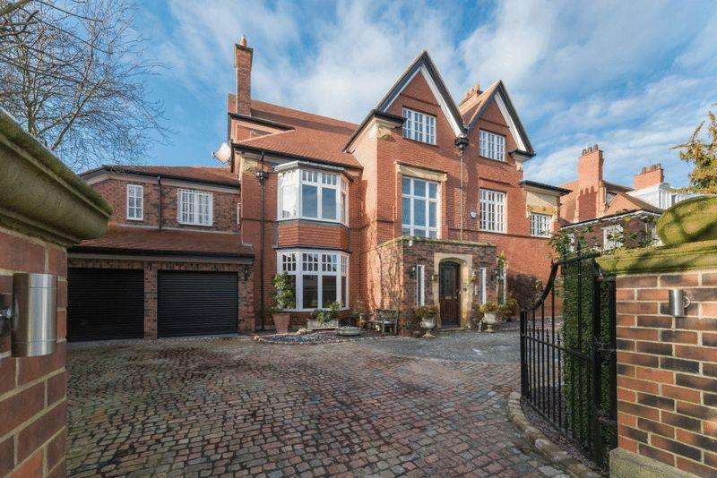 6 Bedrooms Detached House for sale in Adderstone Crescent, Jesmond