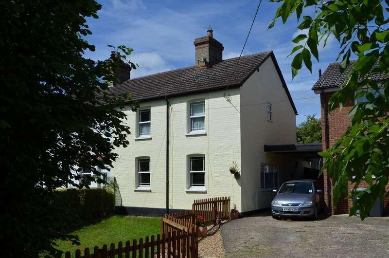 4 Bedrooms Semi Detached House for sale in High Street, WRESTLINGWORTH, SG19
