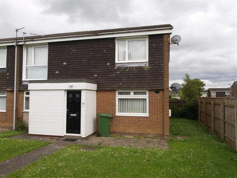 2 Bedrooms Property for sale in Wedder Law, Cramlington