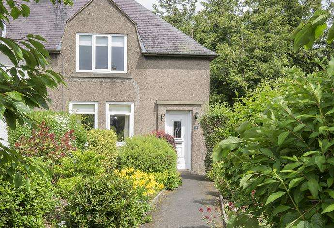 2 Bedrooms Semi Detached House for sale in 1 Eildon Terrace, Newtown St Boswells, TD6 0PY