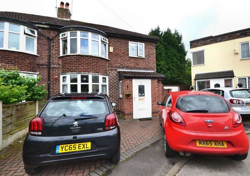 3 Bedrooms Semi Detached House for sale in Crandon Drive, East Didsbury