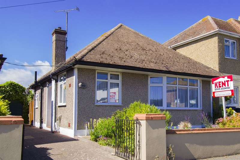 2 Bedrooms Detached Bungalow for sale in Bridgefield Road, Tankerton, Whitstable
