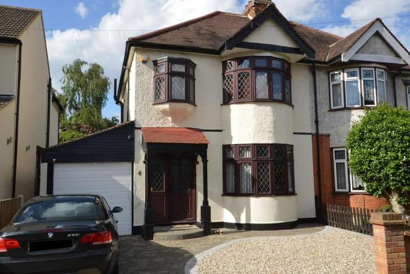 4 Bedrooms Semi Detached House for sale in Western Avenue, Gidea Park, Essex RM2