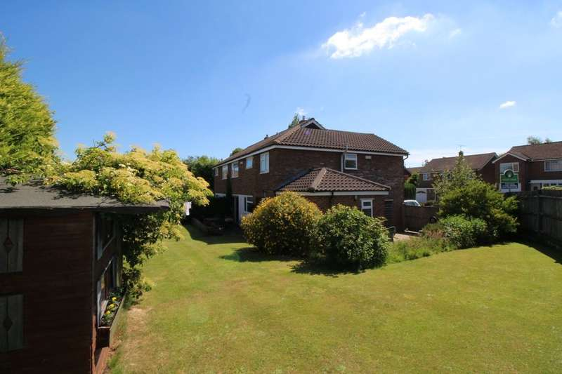 4 Bedrooms Semi Detached House for sale in Ridgeway, Pembury, Tunbridge Wells, TN2