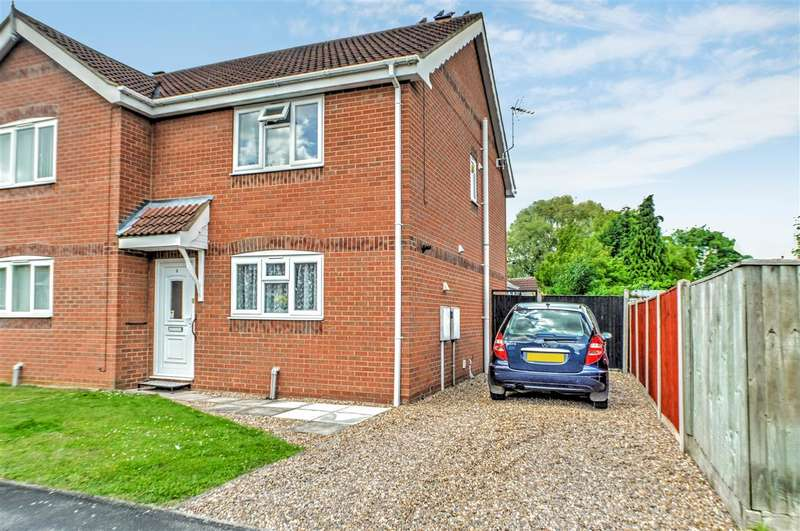 2 Bedrooms Semi Detached House for sale in Meadowbrook, Ruskington