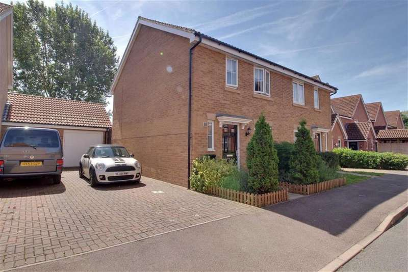 3 Bedrooms Semi Detached House for sale in May Hill View, Newent, Gloucestershire