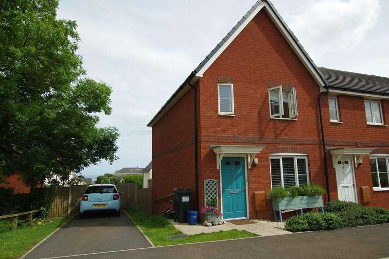 3 Bedrooms End Of Terrace House for sale in Elizabethan Way, Teignmouth