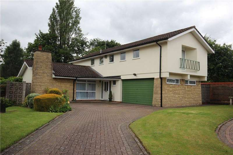 4 Bedrooms Detached House for sale in Sandal Rise, Solihull, West Midlands, B91