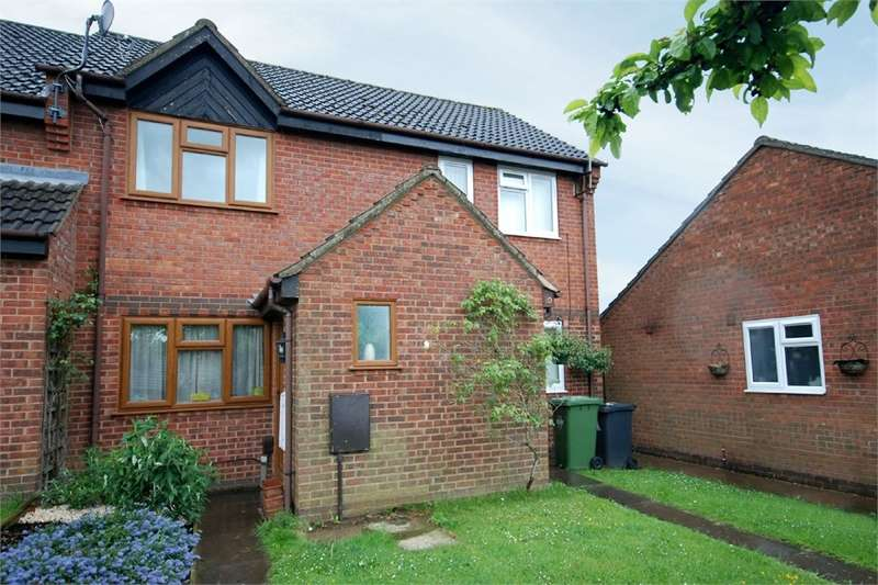 1 Bedroom Terraced House for sale in Garyth Williams Close, Overslade, RUGBY, Warwickshire