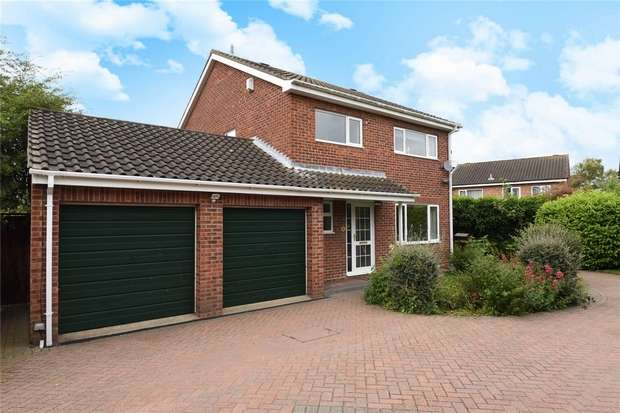 4 Bedrooms Detached House for sale in Norfolk Close, Bedford