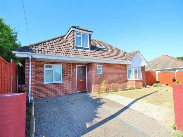 4 Bedrooms Detached Bungalow for sale in Rossmore Road, Parkstone, POOLE, Dorset