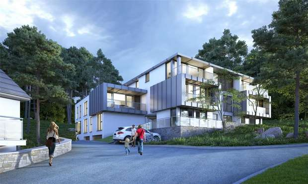 3 Bedrooms Flat for sale in Crosstrees, 74, 76, 78, 80 Lilliput Road, Poole, Dorset, 3 bedroom apartments from 595,000 to 1,895,000