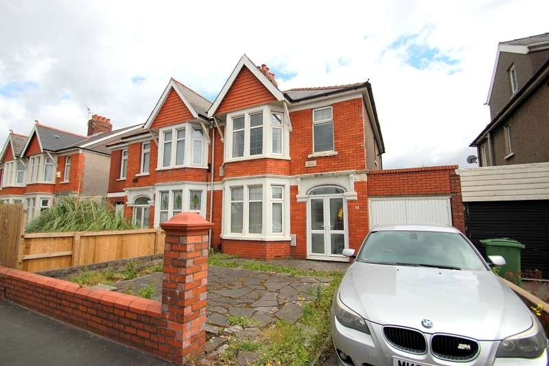 3 Bedrooms Semi Detached House for sale in Caerphilly Road, Cardiff. CF14 4AF