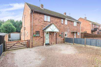 3 Bedrooms Semi Detached House for sale in Hillery Road, Spetchley, Worcester, Worcestershire