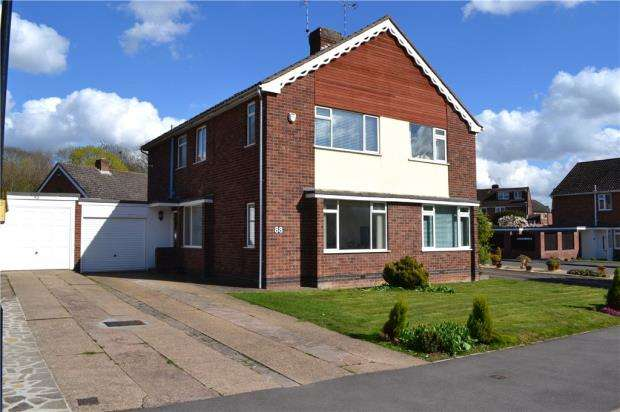 3 Bedrooms Semi Detached House for sale in Nod Rise, Mount Nod, Coventry, West Midlands