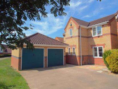 3 Bedrooms Detached House for sale in Dussindale, Norwich, Norfolk