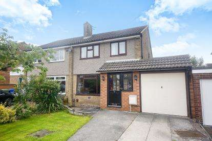 3 Bedrooms Semi Detached House for sale in Beaumaris Crescent, Hazel Grove, Stockport, Cheshire