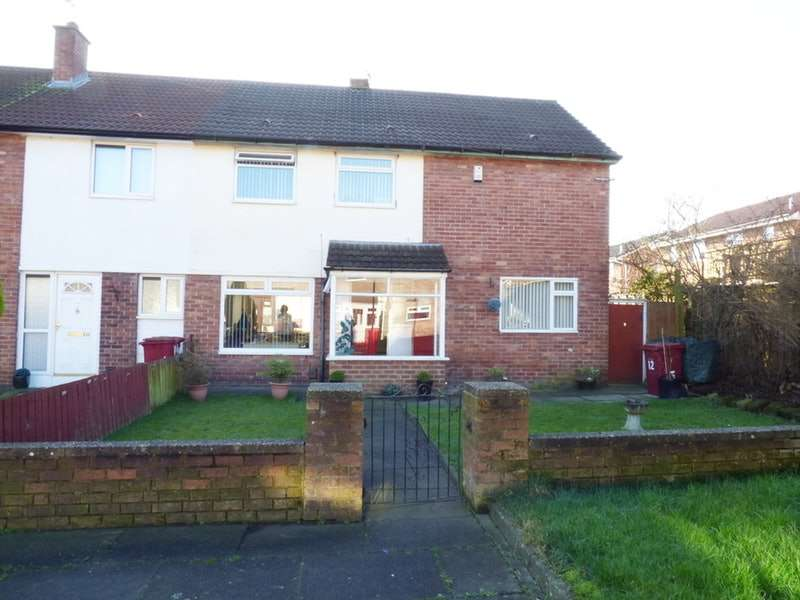 4 Bedrooms End Of Terrace House for sale in abberley road, liverpool, Merseyside, L25