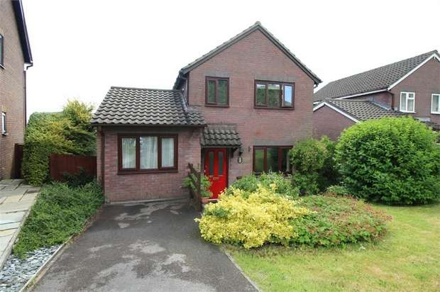 3 Bedrooms Detached House for sale in 36 Celandine Court, Ty Canol, CWMBRAN, Torfaen