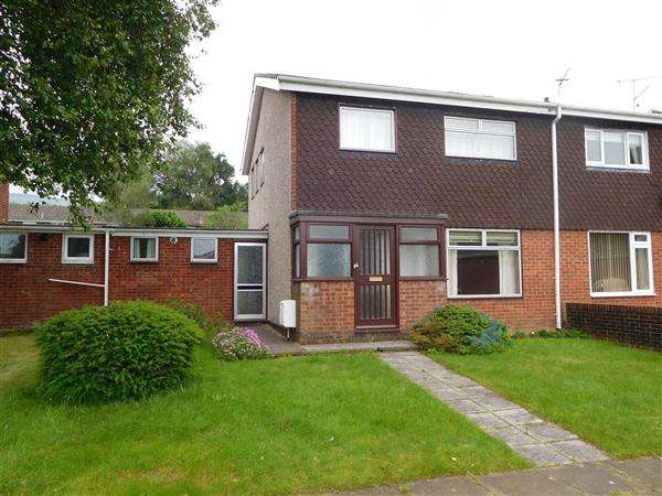 3 Bedrooms Semi Detached House for sale in Llanerch Path, Cwmbran