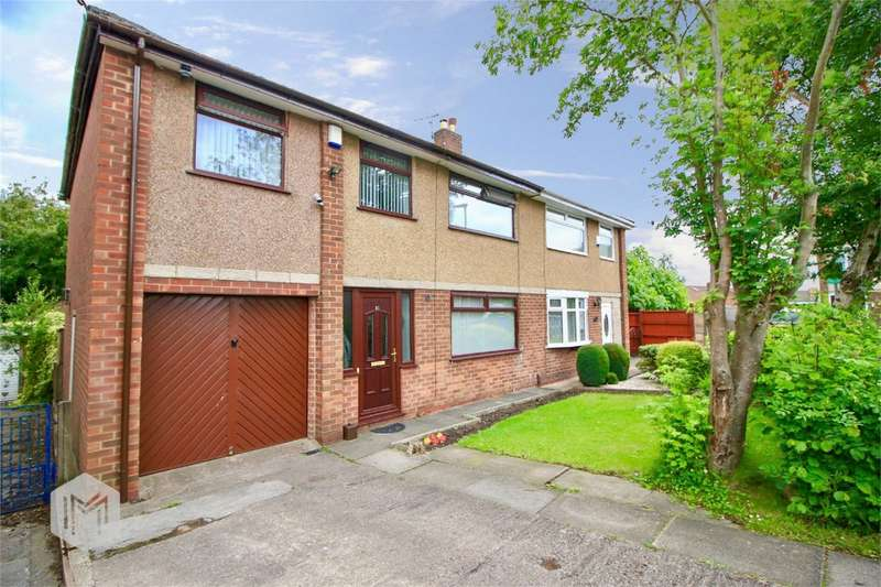 4 Bedrooms Semi Detached House for sale in Queens Close, Worsley, Manchester, Lancashire