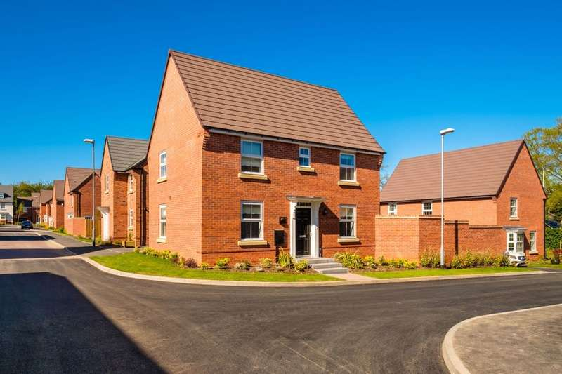 3 Bedrooms Detached House for sale in The Hadley, Morda Road, Oswestry, SY10