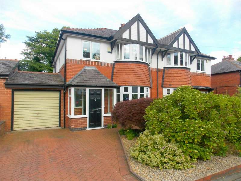 3 Bedrooms Semi Detached House for sale in Rhosleigh Avenue, Sharples, Bolton, Lancashire