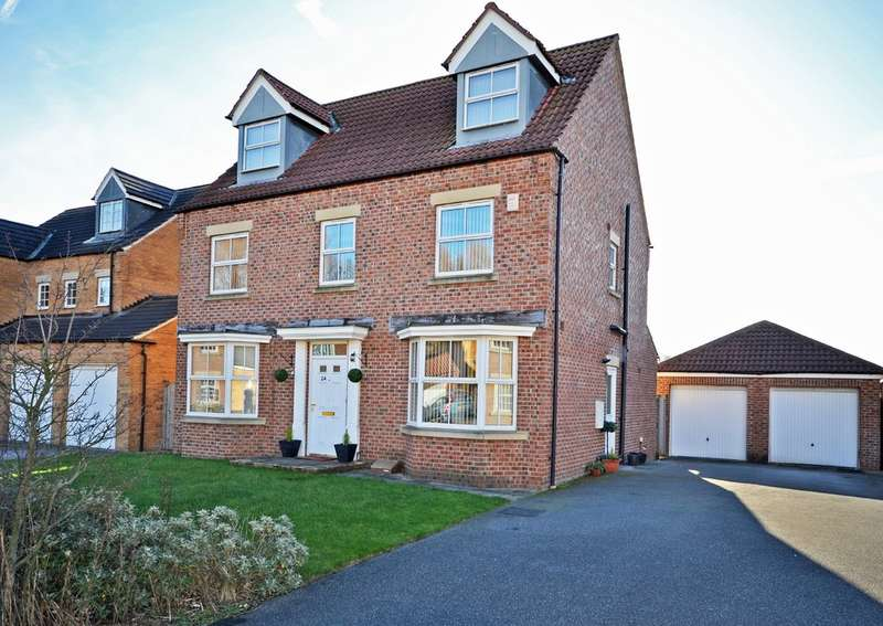 6 Bedrooms Detached House for sale in Wicket Drive, Wakefield