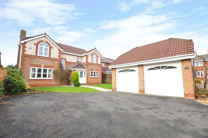 4 Bedrooms Detached House for sale in Greenmead Close, Cottam, Preston, Lancashire, PR4 0AF
