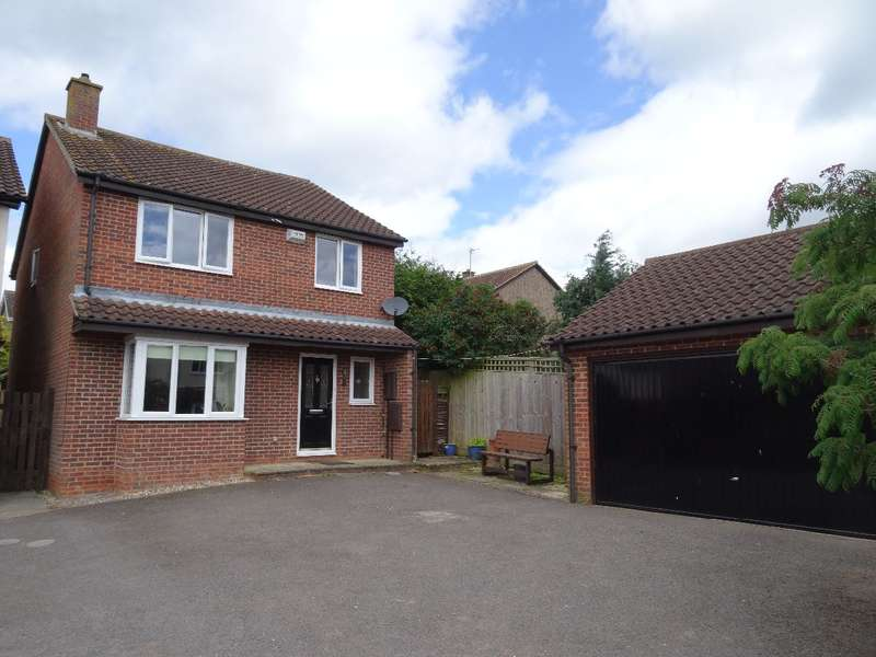 4 Bedrooms Detached House for sale in CRABTREE CLOSE, OLNEY
