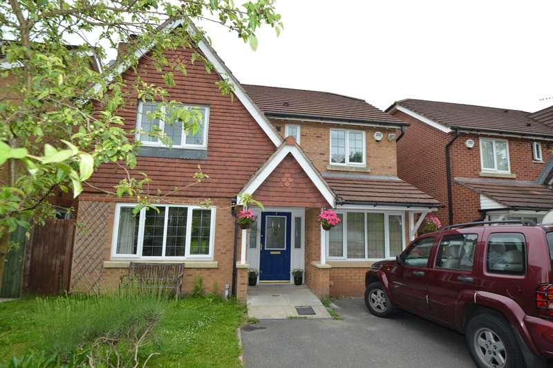 4 Bedrooms Detached House for sale in Newby Close, Bury, BL9